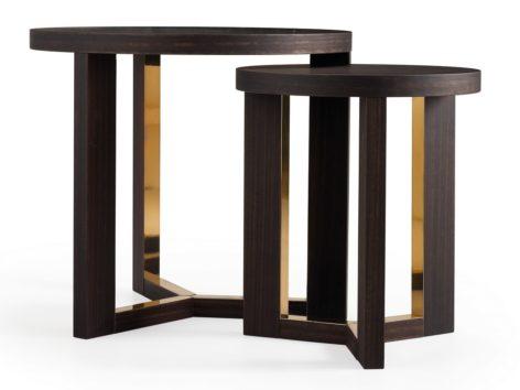 круглый маленький стильный стол