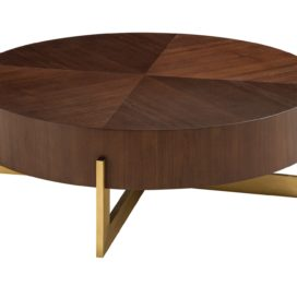 круглый современный кофейный стол