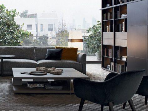 квадратный кофейный стол