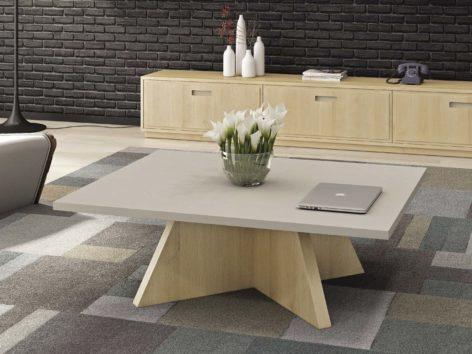 квадратный кофейный столик