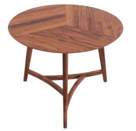 небольшой деревянный стол из ореха