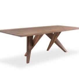 обеденный стол из дуба для кухни