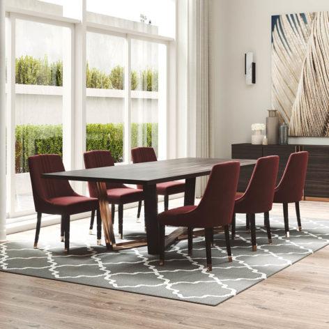 обеденный стол в гостиную