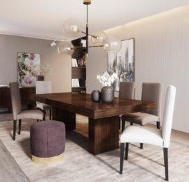 обеденный стол в гостинную