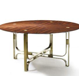 обеденный стол в стиле арт деко