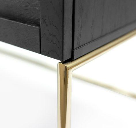 письменный стол на золотых ножках