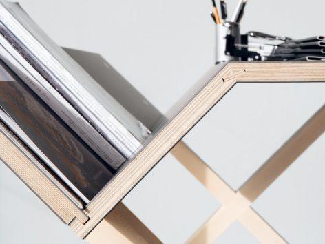письменный стол современный из фанеры