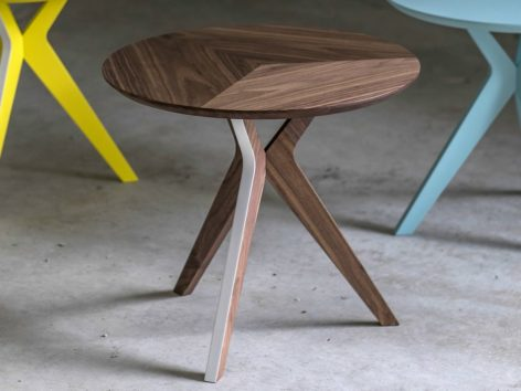 современный круглый кофейный столик