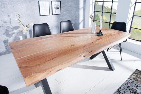 стол обеденный лофт из дуба