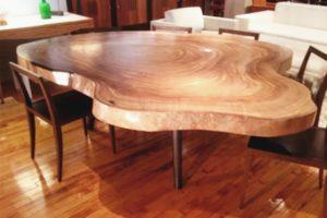 кофейный стол из спила