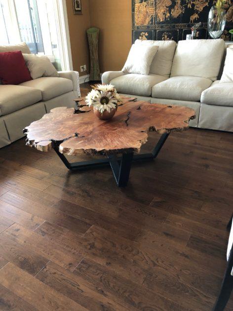 эксклюзивный стол из слэба