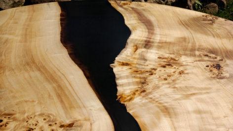 стол река из тополя
