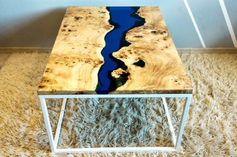 уникальный стол из дерева