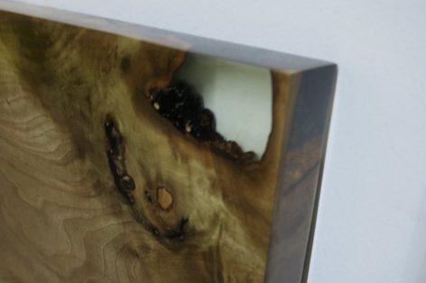 уникальный стол из ореха