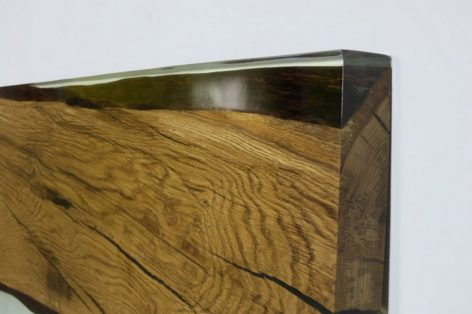 уникальный стол из слэбов дуба